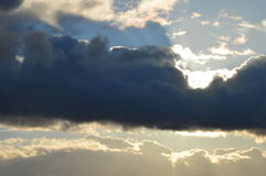 beautiful clouds Стоковая Фотография RF