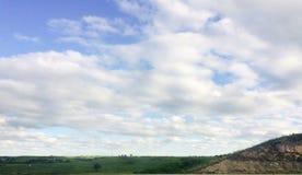 beautiful clouds 库存图片