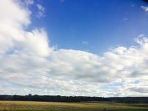 beautiful clouds 免版税图库摄影