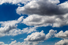 Beautiful clouds against blue sky as background Stock Photography