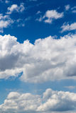 Beautiful clouds against blue sky as background Royalty Free Stock Images