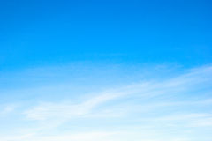 Free Beautiful Clouds And Blue Sky. For Background And Textute. Stock Image - 60256161