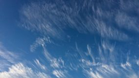 Beautiful clouds. Blue skies, amazing sky stock photography