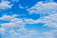 Beautiful clouds and blue sky background. Clouds and blue sky background Stock Images