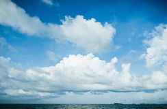 Beautiful clouds Stock Images