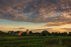 Beautiful clouds. Cloud layer, never seen Royalty Free Stock Photos