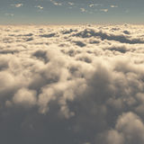 Beautiful clouds Stock Image