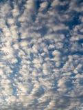 Beautiful clouds at dawn Stock Photo