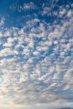 Beautiful clouds at dawn Royalty Free Stock Image