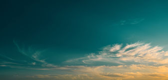 Beautiful clouds. Royalty Free Stock Image