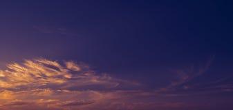 Beautiful clouds. Stock Photography
