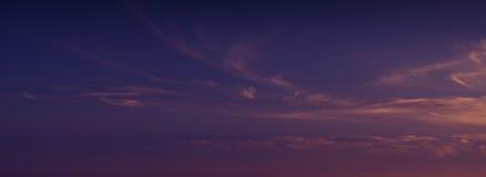 Beautiful clouds. Stock Image