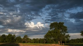 Dramatic skies in Eastern Oklahoma Royalty Free Stock Images