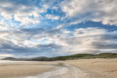 Beautiful clouds on Harris beach Royalty Free Stock Photos