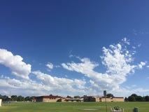 Beautiful clouds stock photos
