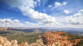 Beautiful clouds over Bryce Canyon National Park, Stock Photos
