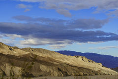 Beautiful clouds over Death Valley National Park Stock Images