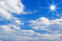 Beautiful clouds in the sky Royalty Free Stock Images
