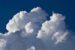 Beautiful clouds. In the sky Royalty Free Stock Photography