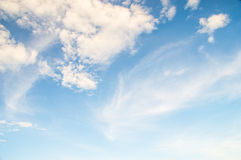 Beautiful Clouds sky background. The Beautiful Clouds sky background stock photos