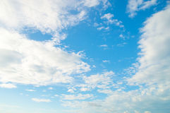 Beautiful Clouds sky background. The Beautiful Clouds sky background stock images