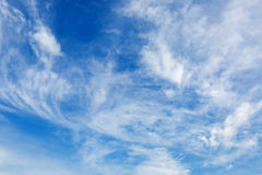 Beautiful clouds in sky Royalty Free Stock Images