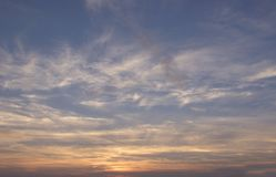 Beautiful clouds on the sky. Photo Of the beautiful clouds on the sky stock images