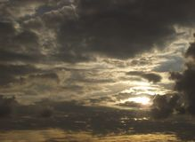 Beautiful clouds on the sky. Photo Of the beautiful clouds on the sky royalty free stock images