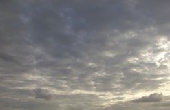 Beautiful clouds on the sky. Photo Of the beautiful clouds on the sky royalty free stock photo