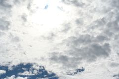 Beautiful clouds on the sky. Photo Of the beautiful clouds on the sky royalty free stock image