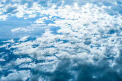 Beautiful clouds and sky. Clouds and sky, beautiful reflections in the water Stock Images