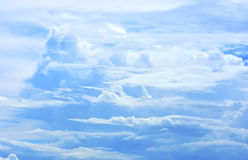 Beautiful clouds in the sky. Royalty Free Stock Photos