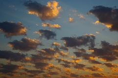 Beautiful cloudscape Royalty Free Stock Image
