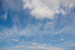 Beautiful cloudscape Royalty Free Stock Photography