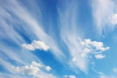 Beautiful cloudscape Royalty Free Stock Photo