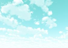 Beautiful cloudscape Stock Images