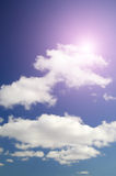 Beautiful cloudscape background Royalty Free Stock Photos