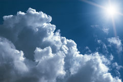 Beautiful cloudscape background. Abstract beautiful cloudscape sky  background Stock Photography