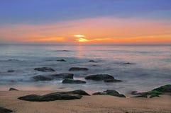 Beautiful cloudscape. Beautiful cloudscape over the sea Royalty Free Stock Photo