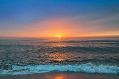 Beautiful cloudscape over the sea. Beautiful cloudscape over the sea, sunrise shot Royalty Free Stock Photo