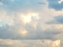 Beautiful fluffy clouds Royalty Free Stock Photo