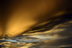 Beautiful cloudscape with sunray Royalty Free Stock Photos