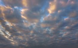 Beautiful cloudscape stock photography