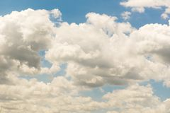 Beautiful cloudscape in tropical country Stock Photo