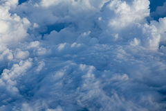 Beautiful cloudy over the sky Stock Images