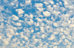 Beautiful, cloudy skies Royalty Free Stock Images