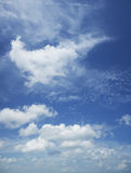 Beautiful cloudy sky Royalty Free Stock Photo