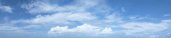 Beautiful cloudy sky Royalty Free Stock Image