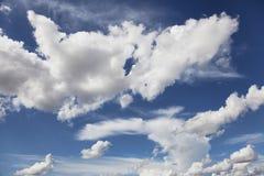 Beautiful cloudy sky Royalty Free Stock Photos