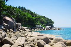Beautiful coast of the Andaman Sea Royalty Free Stock Images